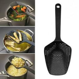 1x Home Kitchen Accessories Scoop Drain Gadgets Strainer Veg