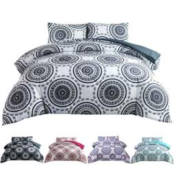 2/3Pcs Indian Mandala Bohemian Duvet Bedding Quilt Comforter