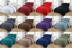 Sapphire Home 3-Piece Bedspread Coverlet Bedding Set Oversiz
