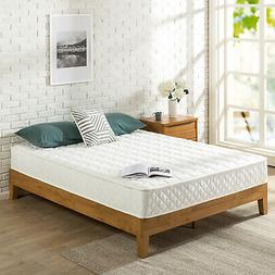 Zinus 8 Inch Spring Mattress with Quilted Cover, Twin