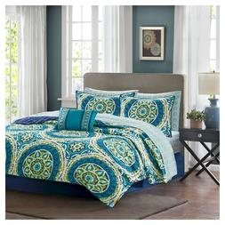 Madison Park Essentials 8 Piece Full Size Coverlet & Sheet S