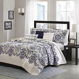 Madison Park Coverlet&Bedspread, Cal King, Blue