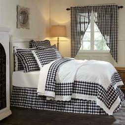 ANNIE BUFFALO BLACK CHECK QUILT SET-choose size & accessorie