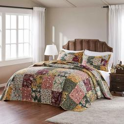 Greenland Home Antique Chic King 3-Piece Bedspread Set