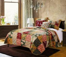 Greenland Home Antique Chic Quilt Set, King/California King,