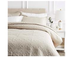 Bed Coverlet Spread Bedspread Vintage Embossed Antique Cover
