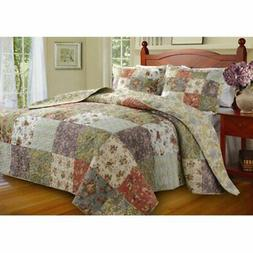 Greenland Home Fashions Blooming Prairie - 2 Piece Bedspread