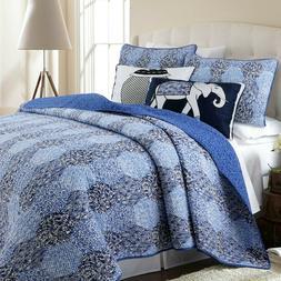 Cozy Line Home Fashions Bohemian Wild Quilt Bedding Set, 100