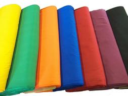 """Broadcloth Fabric 45"""" Cotton Polyester Blend - Sold by the Y"""