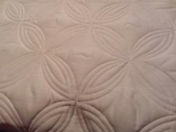 Chic Home 3 Piece Quilted Bedspread Set Comforter King, Ivor