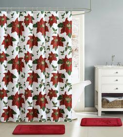 All American Collection Christmas Holiday Traditional Bathro