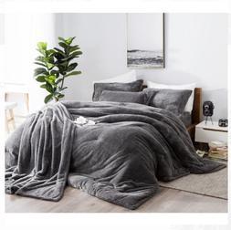 Comforter Charcoal Queen Size, Super Soft Comfort Luxury Bed
