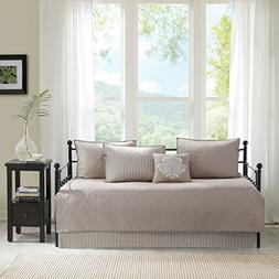 Daybed Bedding Set Cover Quilted Twin Day Bed Khaki Brown Be
