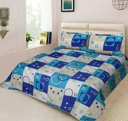 Handmade Designer King Size Bedspread  100% Cotton With Pill