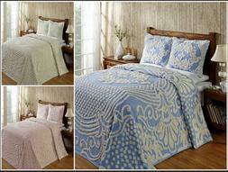 Better Trends Florence 100% Cotton Tufted Chenille Bedspread