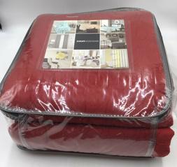 Madison Park King Set 1 Bedspread & 2 Shams Color Red Price