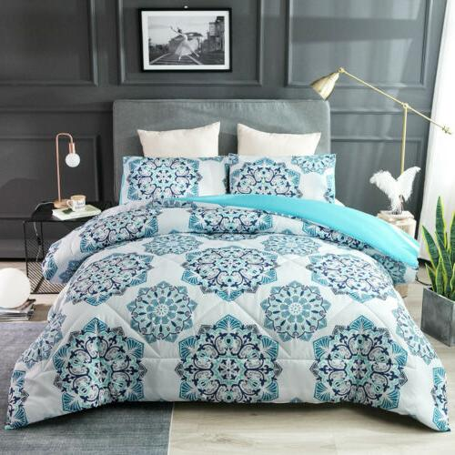 Mandala Bohemian Bedding Soft Microfiber Bedspread Comforter