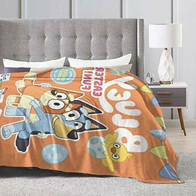 2020-Bluey Decorative Bedspread Plush Throw Blanket