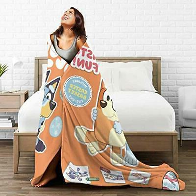 2020-Bluey Blankets Decorative Bedspread