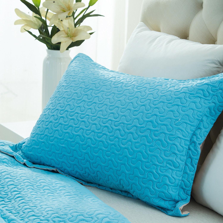 3 Piece Set Comforter Reversible Soft Bedding