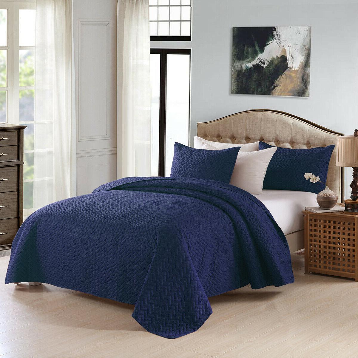 3-Piece Bedspread Set Queen/King
