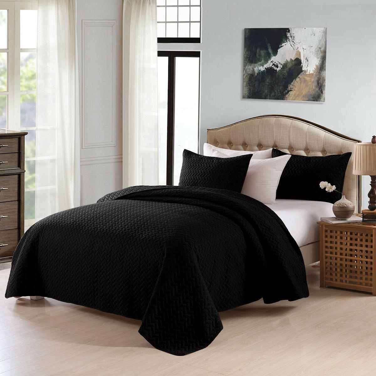 3-Piece Bedspread Quilt Set