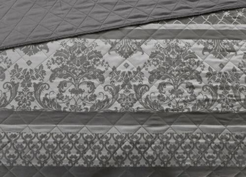 Chezmoi Stripe Quilted