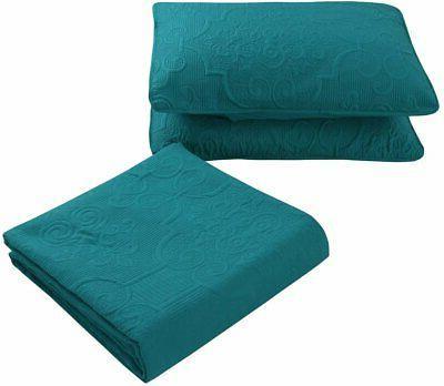 Home Full/Queen/King Oversize Bedspread Set.