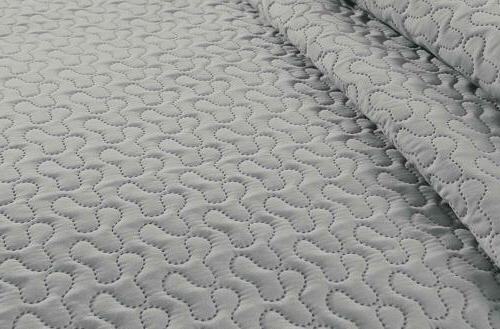3-piece Sage Pinsonic Quilted Reversible Bedspread King Size