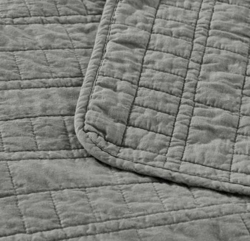 3-Piece Stitch Bedspread