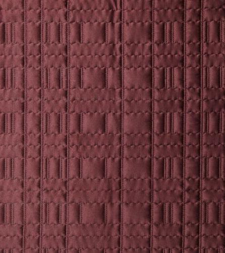 Chezmoi Collection 3pc Burgundy Coverlet Blanket Set