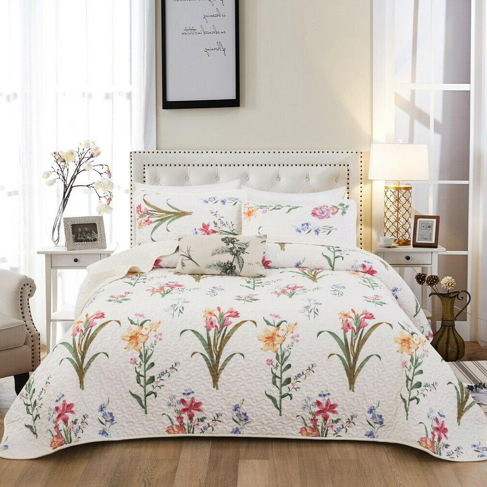 3Pieces Oversized Cover Quilt