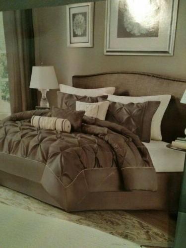 Madison Park Laurel King Size Bed Comforter Set Bed in A Bag