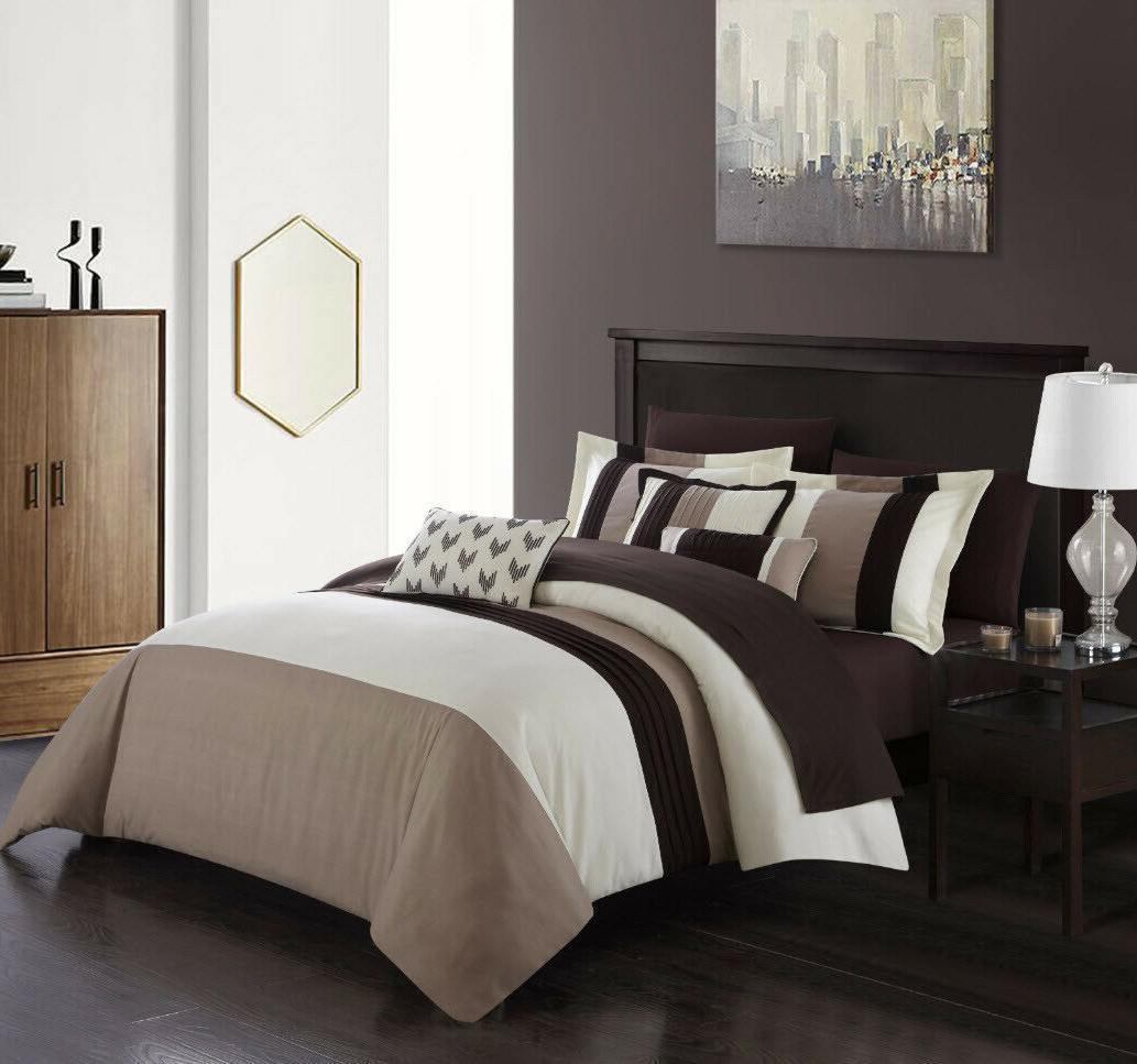 BEIGE COMFORTER SET in a Bedding Pillowcase