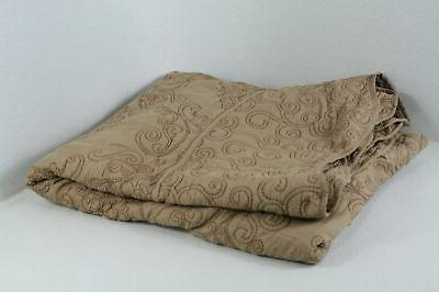 Home Soft Things Serenta Damask Piece Bedspread
