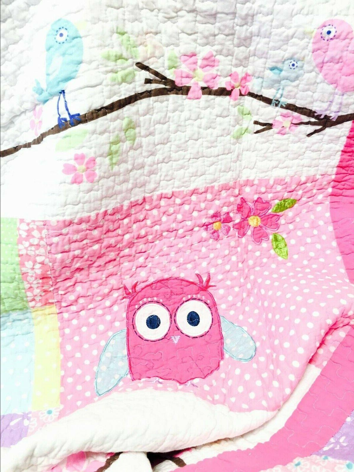 Carwile Owl Quilt Coverlet