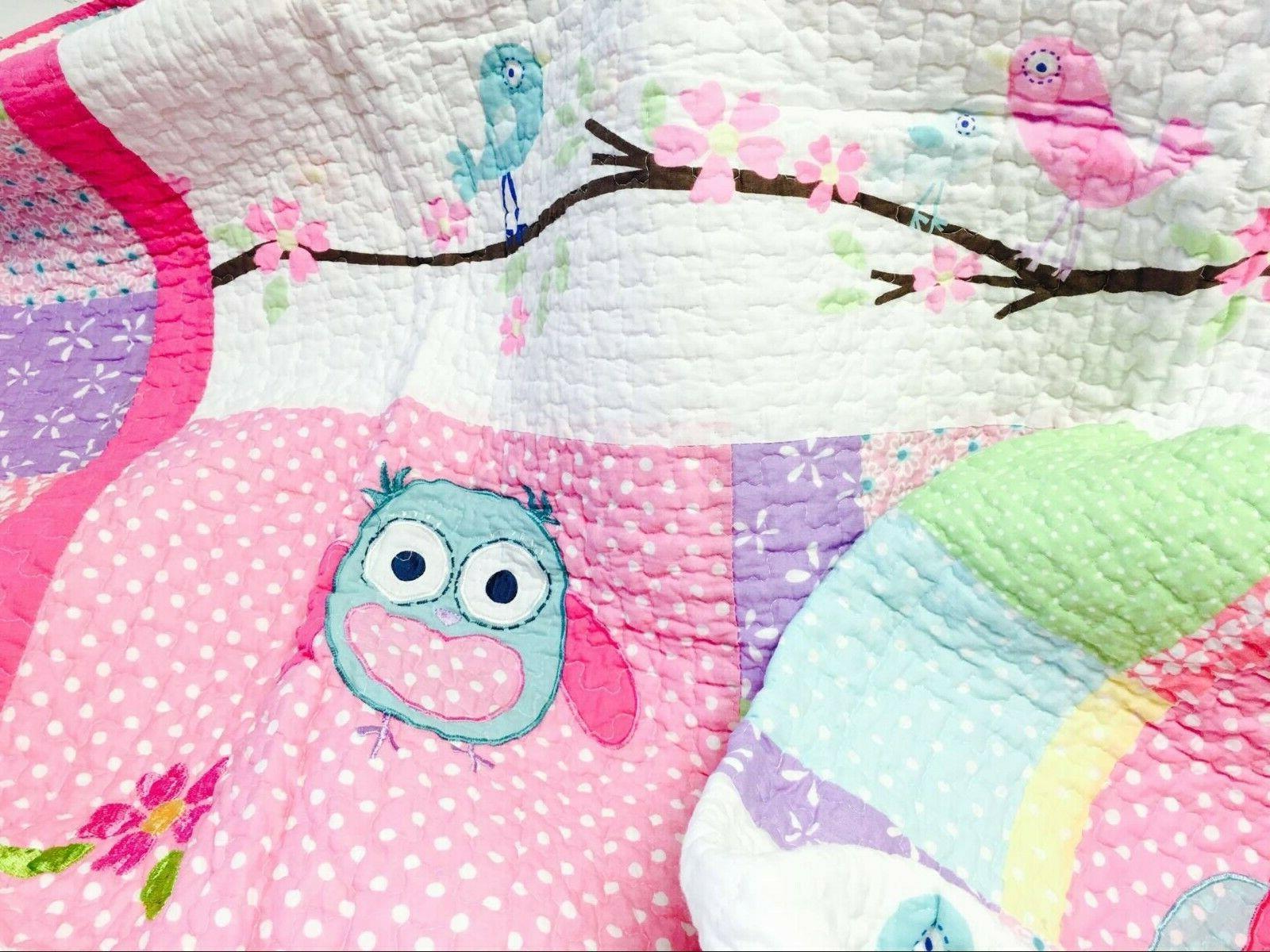 Carwile Owl Reversible Quilt Bedspreads,