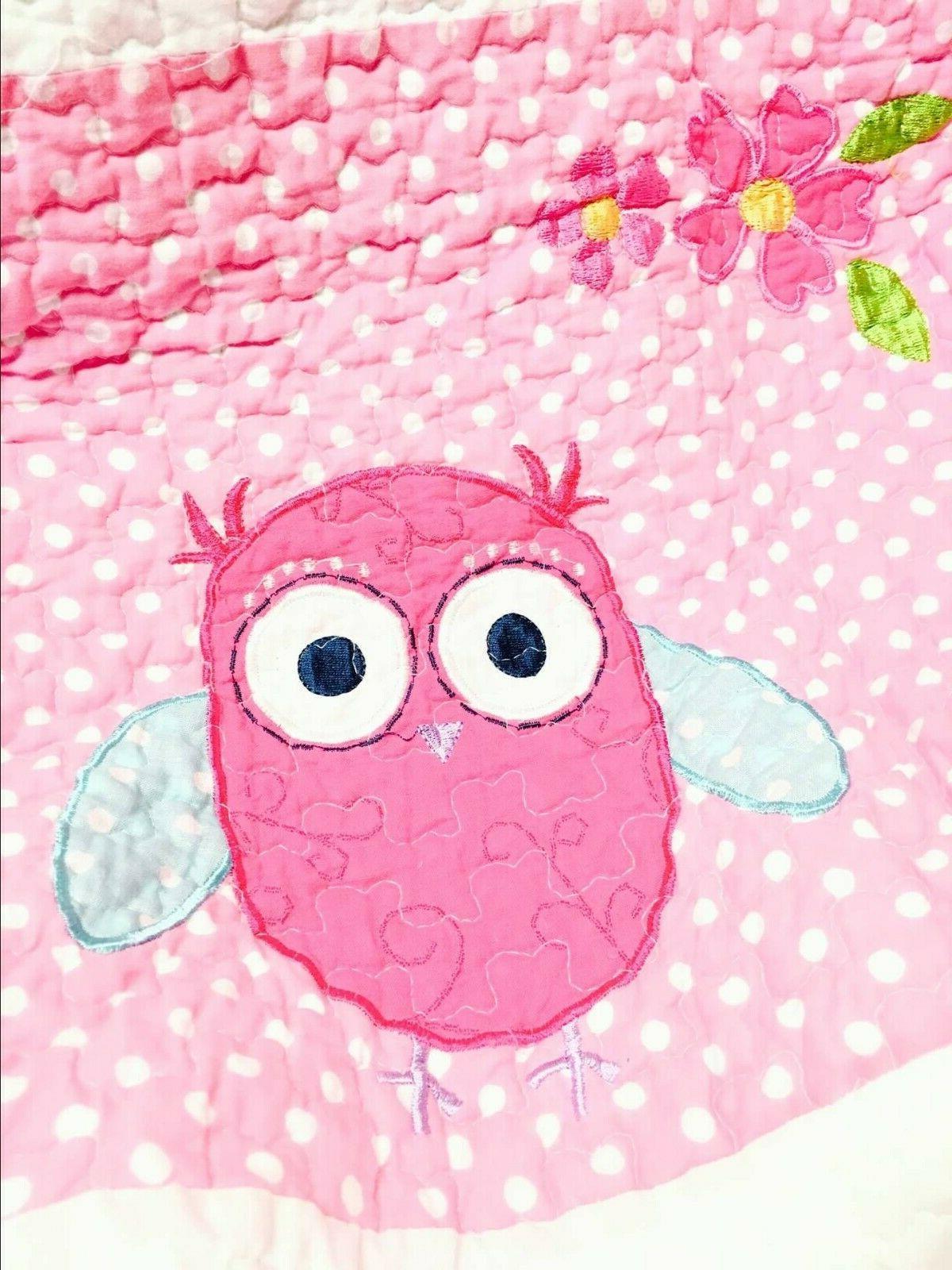 Carwile Owl Cotton Quilt
