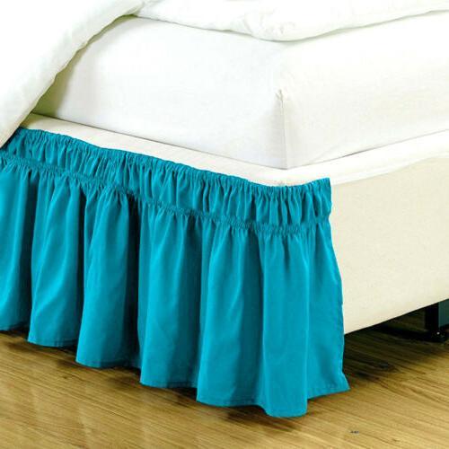Elastic Bed Ruffle Covers King