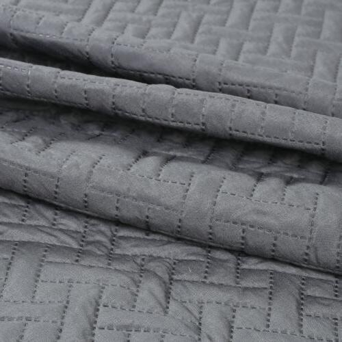 Embossed Quilt Set Bedding Twin King