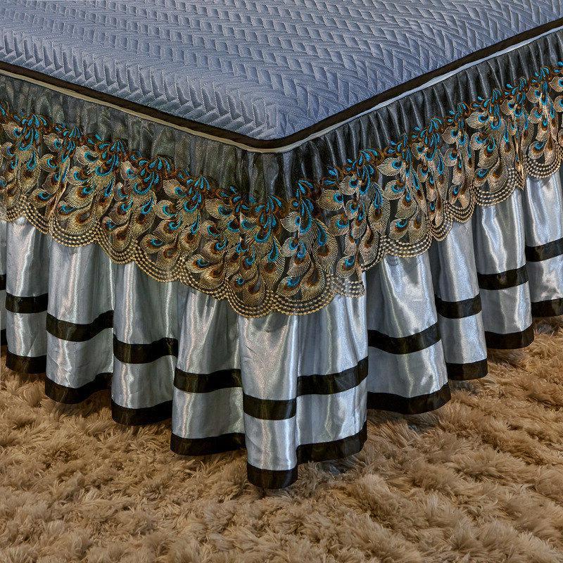 Bedspread Silk Bedskirt