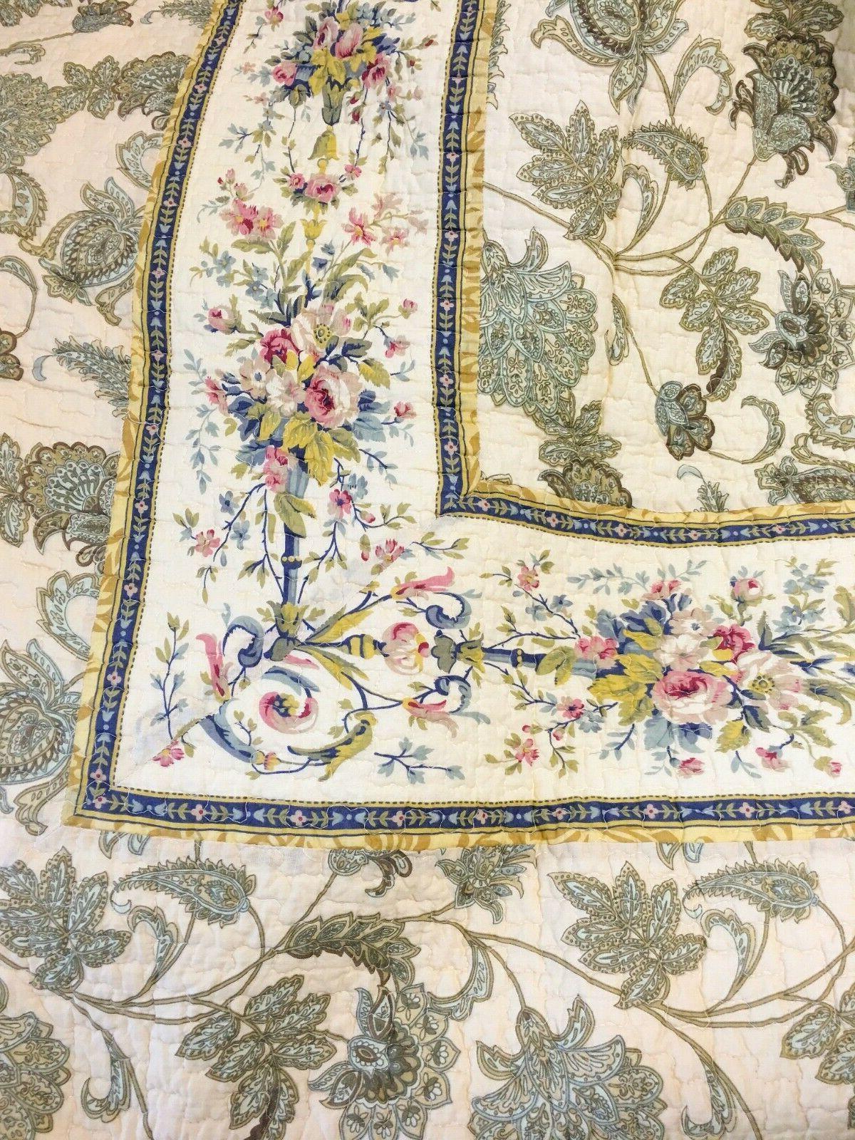 Florence Cotton Quilt Coverlet