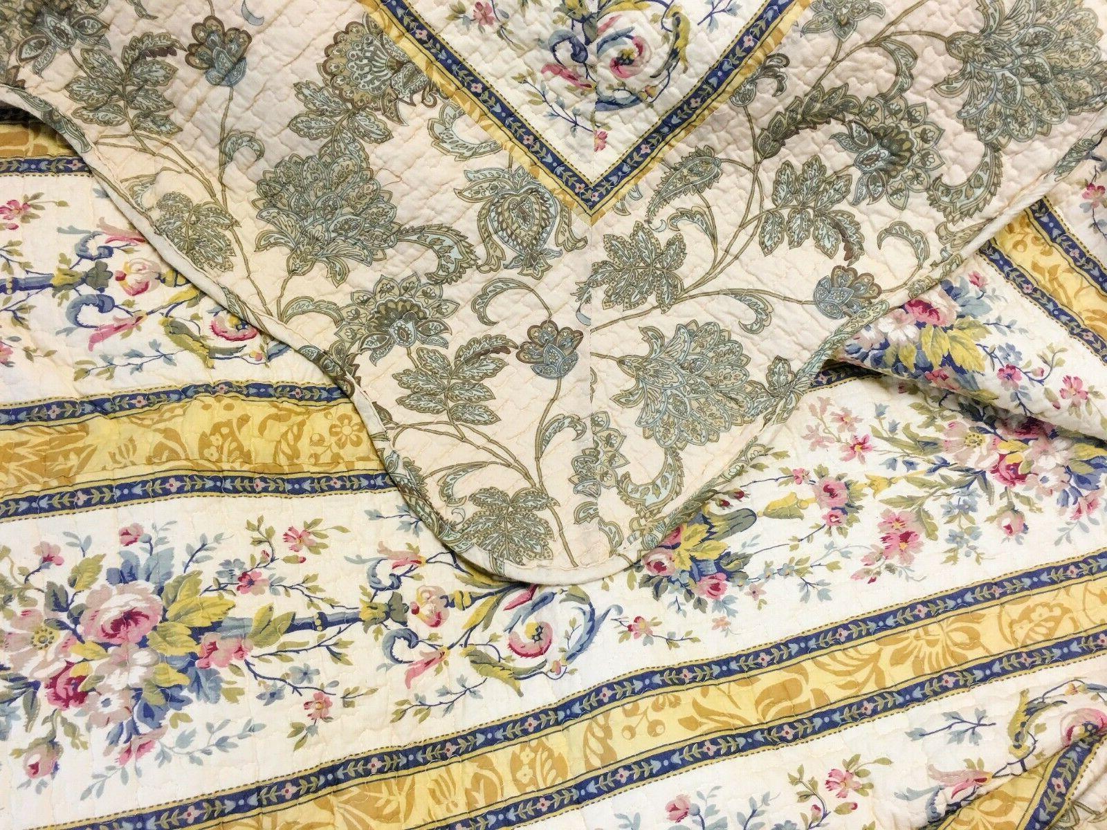 Florence 3 Reversible Cotton Quilt Set, Coverlet
