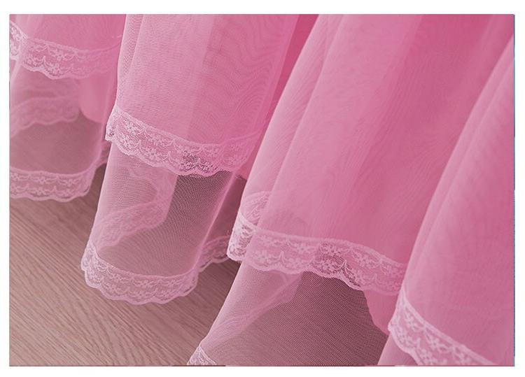 Korea Lace <font><b>Bed</b></font> <font><b>Skirt</b></font> Pillowcases Solid Mattress Cover Princess bedding Fitted King