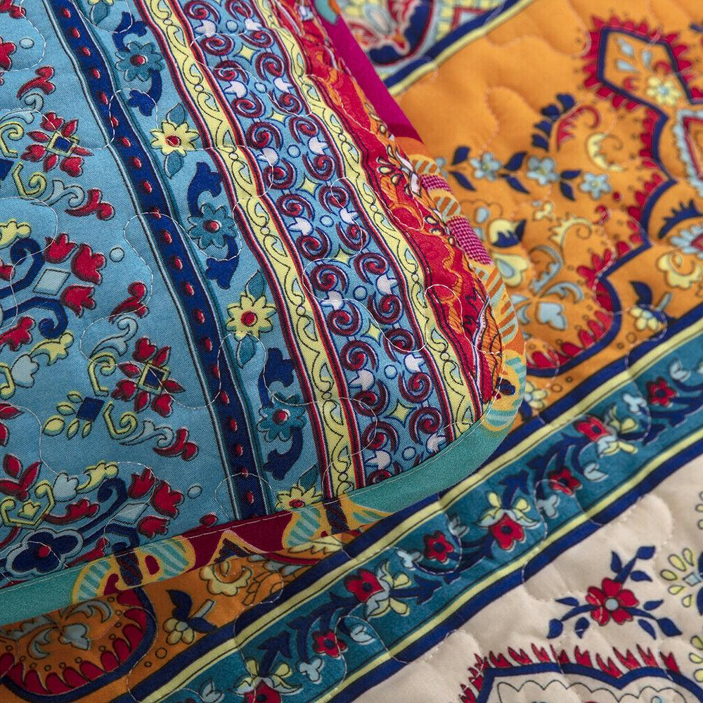 Lightweight Ethnic Printed Soft Set Queen King Bedding