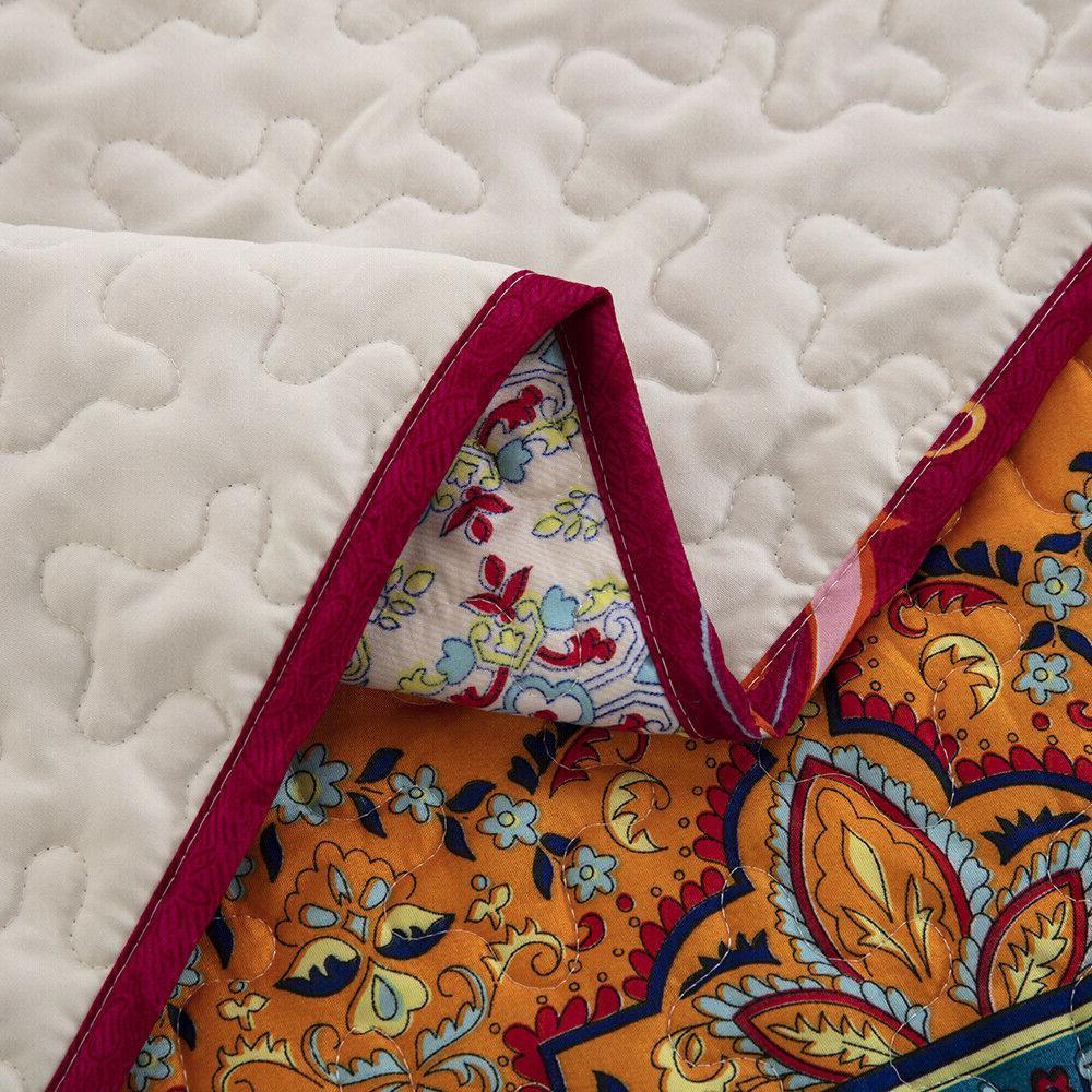 Lightweight Soft Bedspread Coverlet Queen King
