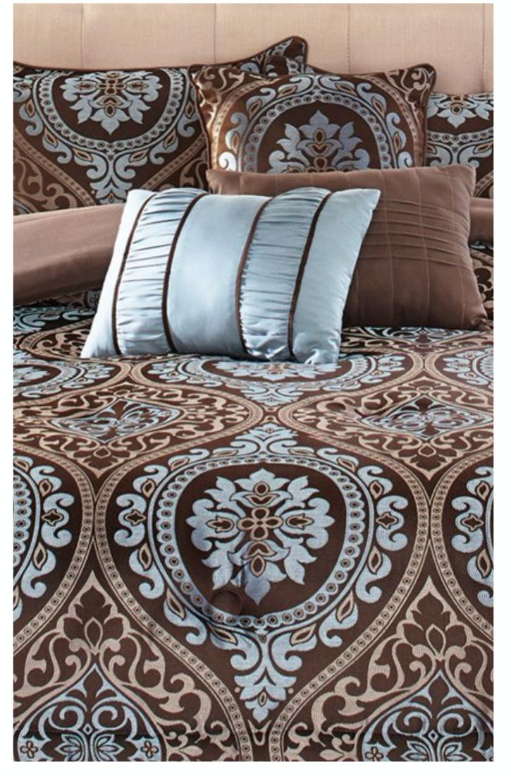 New Piece Size Set Elegant Bedding Bed