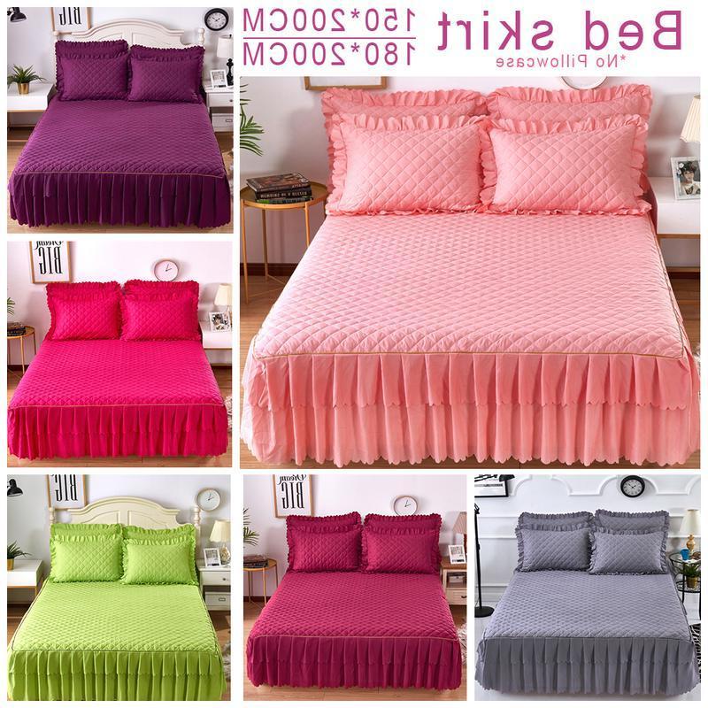 Pink Grey Cotton Double <font><b>Skirt</b></font> Petticoat Twin <font><b>Skirts</b></font>