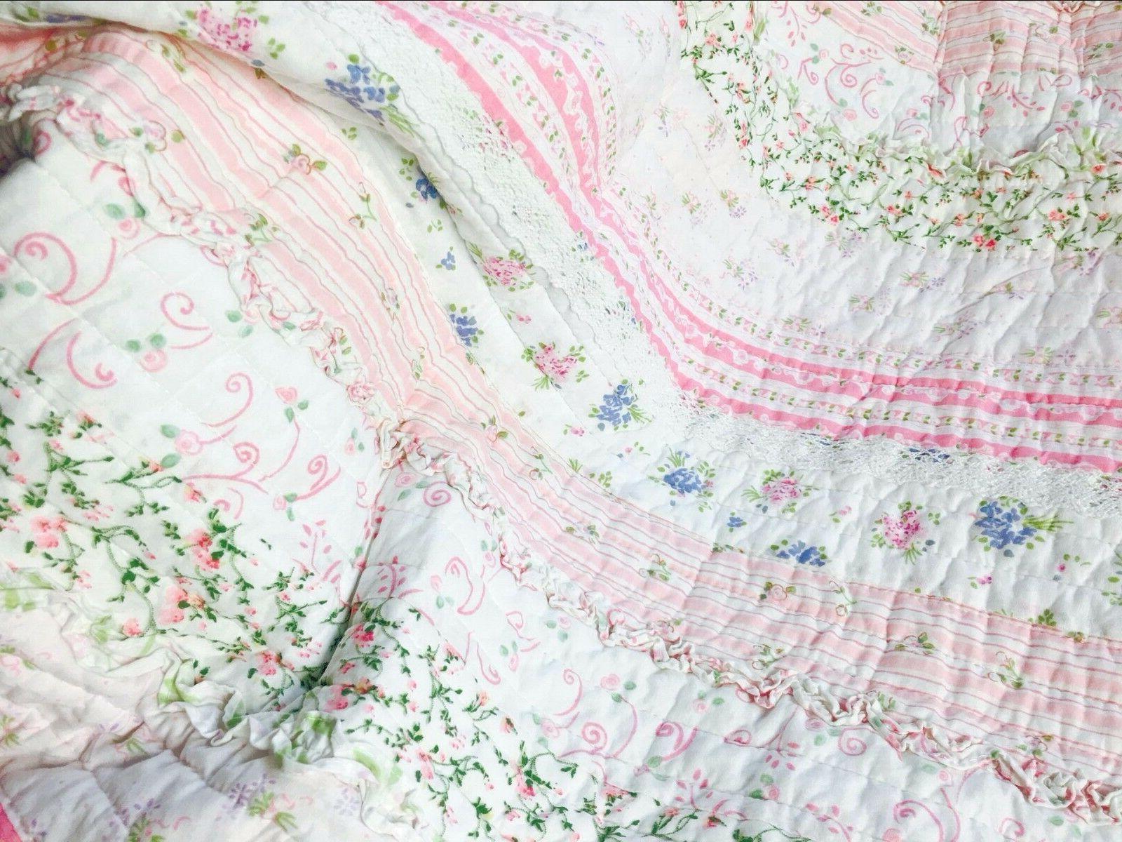 Lace Quilt Set, Bedspread,