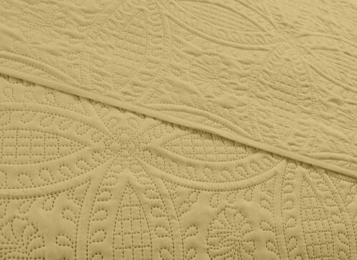 Pinsonic Bedspread Yellow